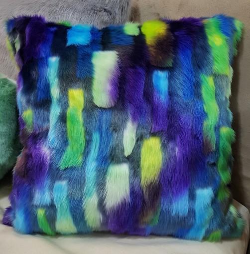 Tissavel Aurora Faux Fur Cushions