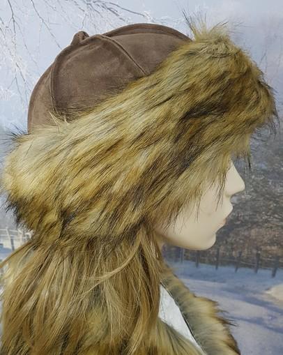 Simba Faux Fur Roller Hat