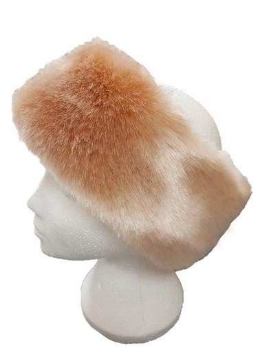 Tissavel Blush Faux Fur Headband