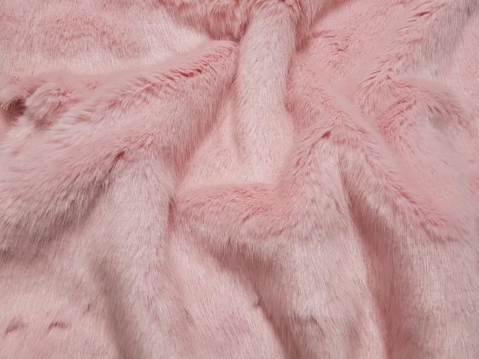 Raspberry Cream Faux Fur Trims