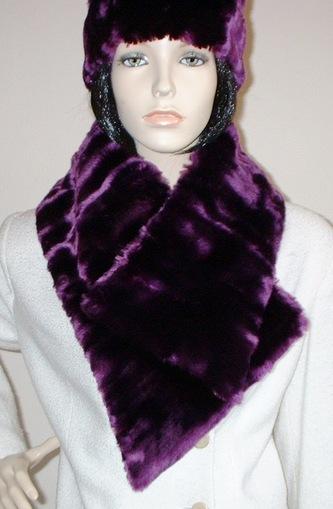 Indulgence Faux Fur Asymmetric Scarf