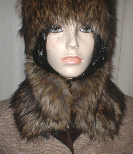 Simba Faux Fur Collar