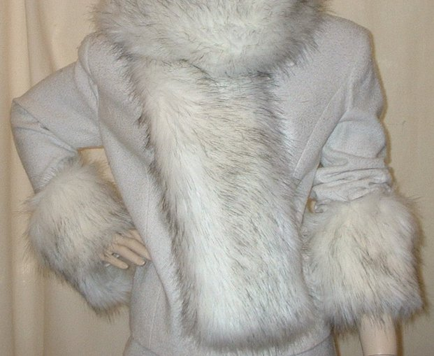 Alaska Faux Fur Cuffs