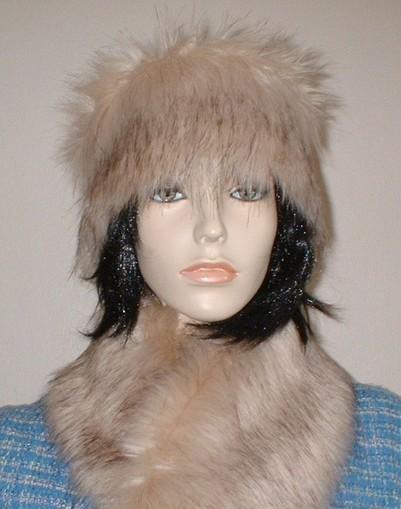 Fawn Musquash Faux Fur Headband
