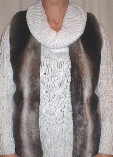 Chinchilla Faux Fur Gilet