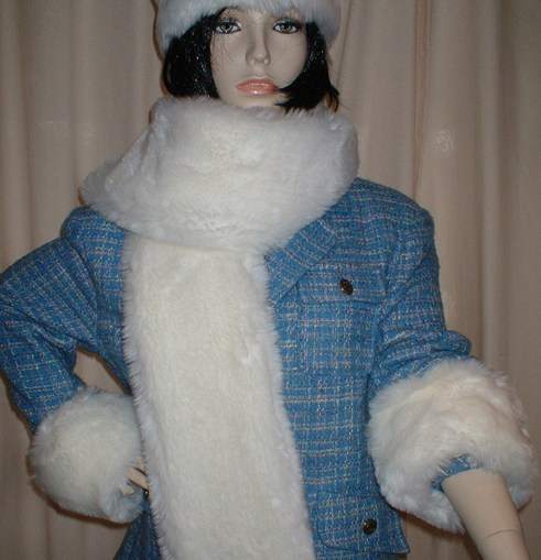 Marilyn Faux Fur Cuffs