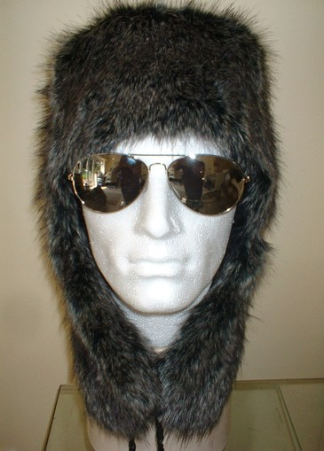 Wolfhound Faux Fur Trapper Hat