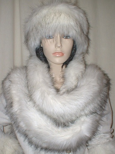 Alaska Faux Fur Super Long Scarf
