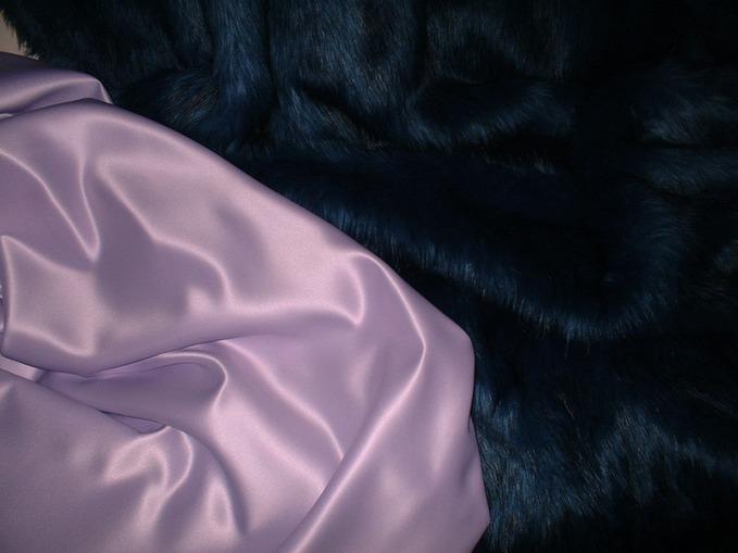 Lavender Duchess Satin Swatch