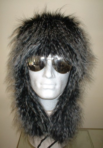 Tissavel Porcupine Faux Fur Trapper Hat