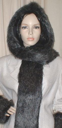 Wolfhound Faux Fur Hoodie