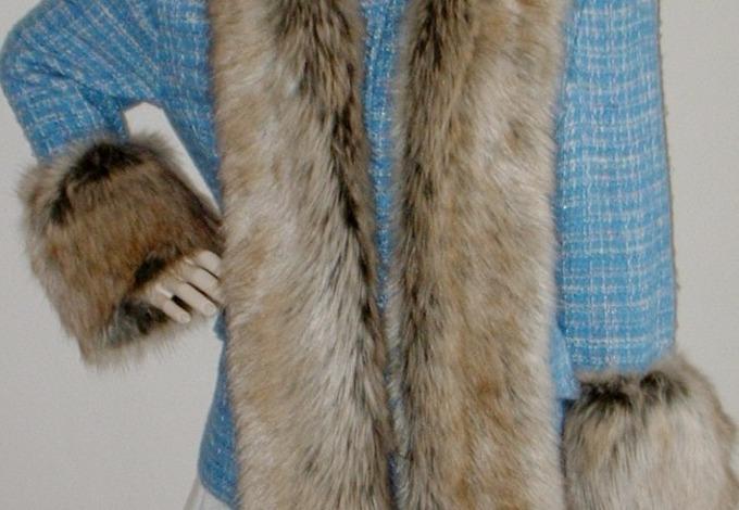 Husky Faux Fur Cuffs