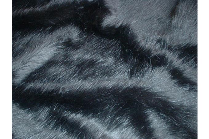Black Bear Faux Fur Cropped Jacket