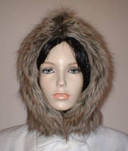 Husky Faux Fur Hood