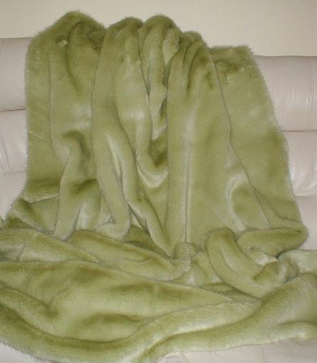 Pistachio Faux Fur Swatches