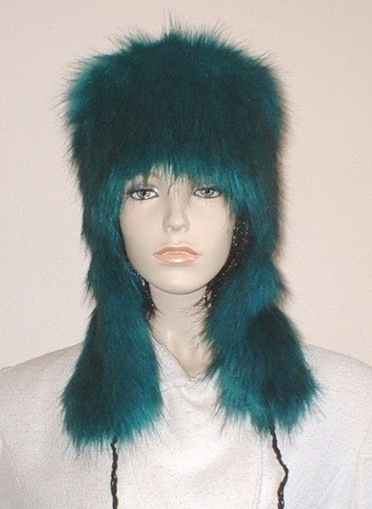 Jade Faux Fur Trapper Hat