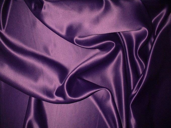 Purple Duchess Satin