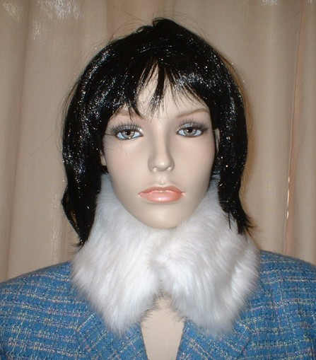 Snow White Faux Fur Collar