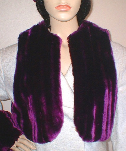 SALE Tissavel Indulgence Faux Fur Bolero