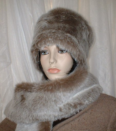Koala Faux Fur Hat