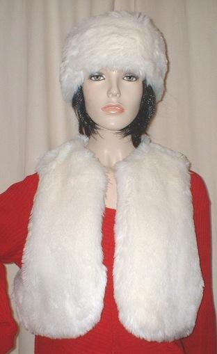 Marilyn Faux Fur Bolero Waistcoat