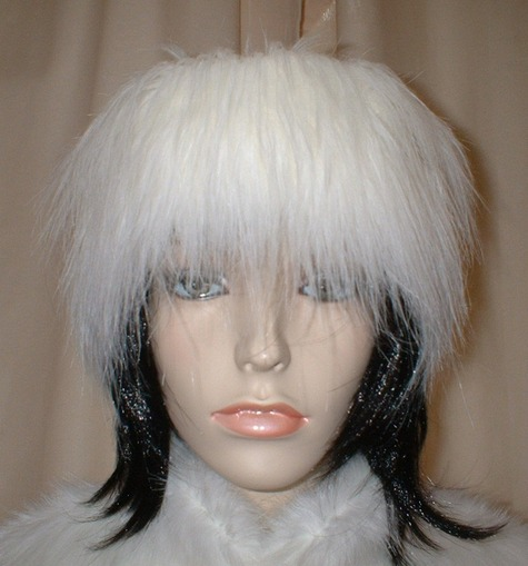 Polar Bear Faux Fur Headband