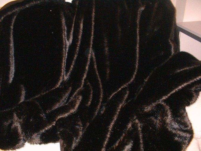 Mahogany Mink Faux Fur SECONDS Per Meter