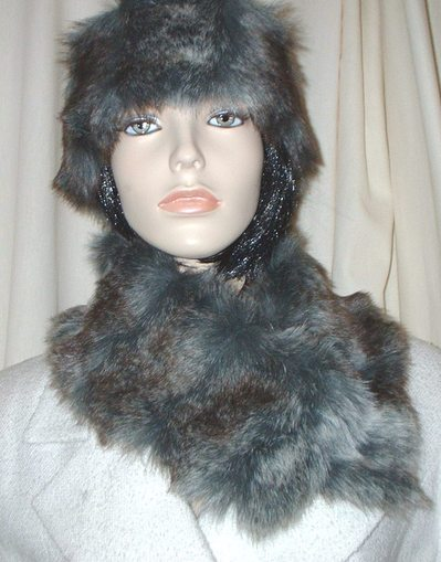 Wolverine Faux Fur Long Collar