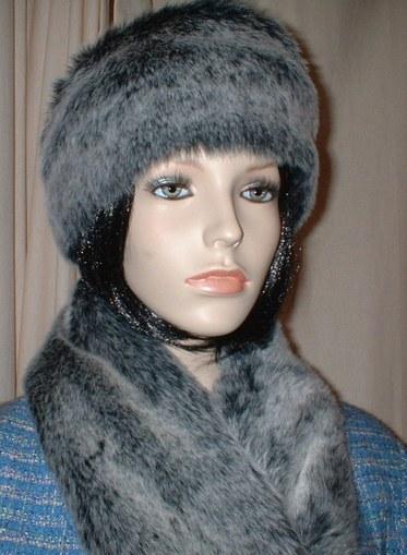 Arctic Wolf Faux Fur Headband
