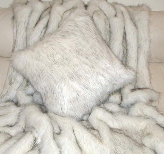 Alaska Faux Fur Cushions