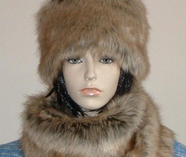 Husky Faux Fur Hat