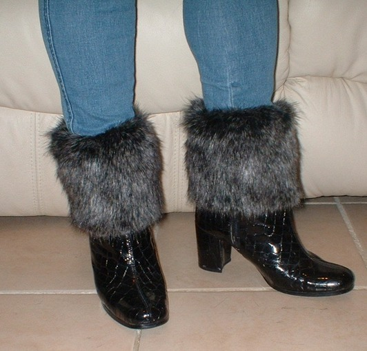 Wolfhound Faux Fur Boot Toppers