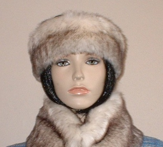 Polar Fox Faux Fur Headband