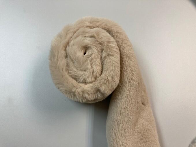 Almond Faux Fur Trims