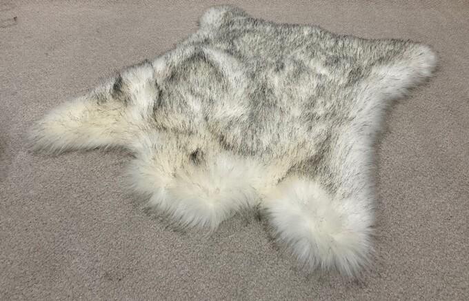 SALE Faux Fur Animal Shaped Rugs