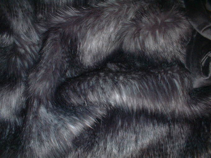 Siberian Wolf Faux Fur Boot Toppers