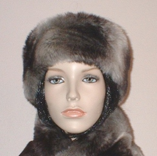 Chinchilla Faux Fur Slim Collar/Headband