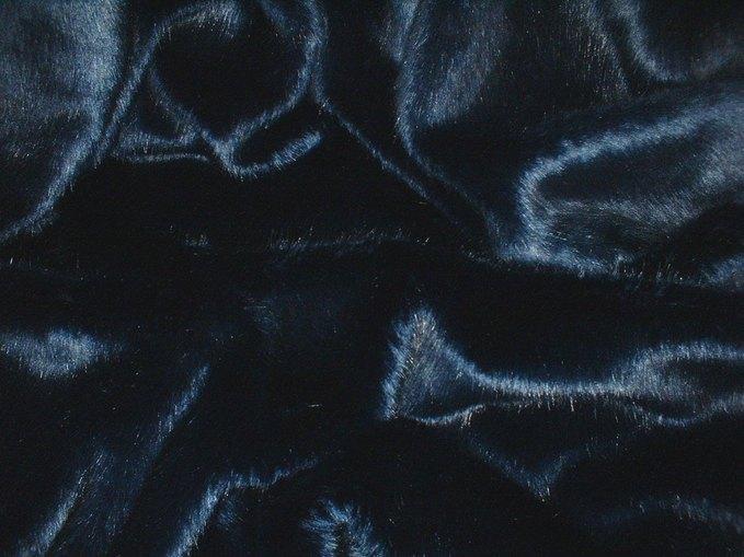 Navy Blue Baby Toddler Faux Fur Blanket