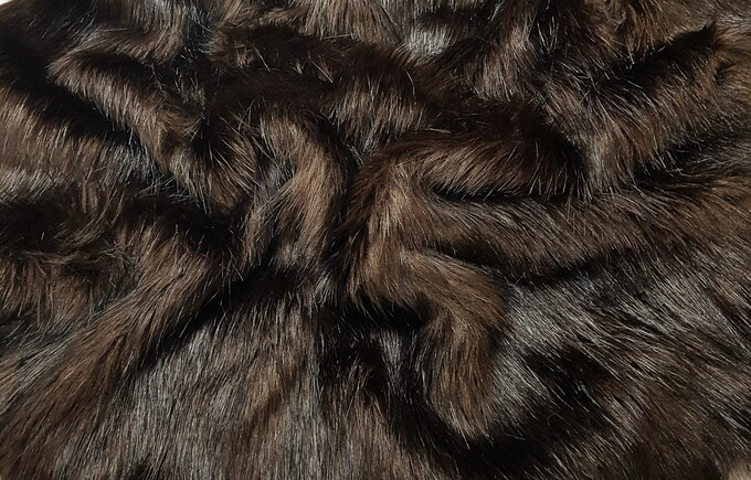 Coco Faux Faux Fur Fabric Per Meter