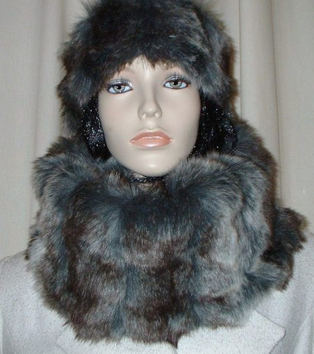 Wolverine Faux Fur Cowl/Neck Warmer