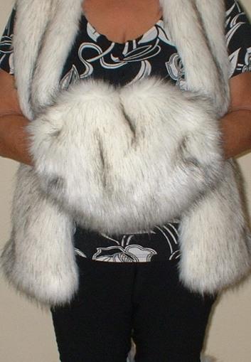 Alaska Faux Fur Muff