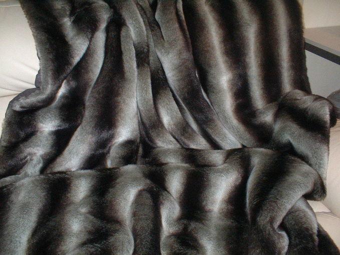 Chinchilla Faux Fur SECONDS Per Meter