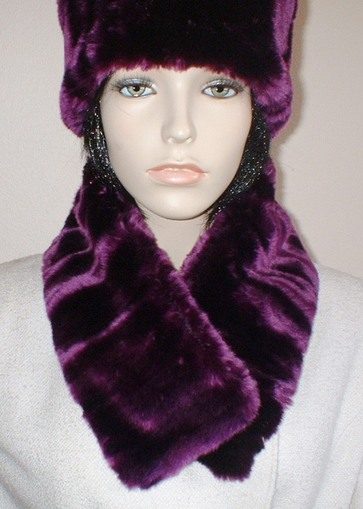 Indulgence Faux Fur Long Collar