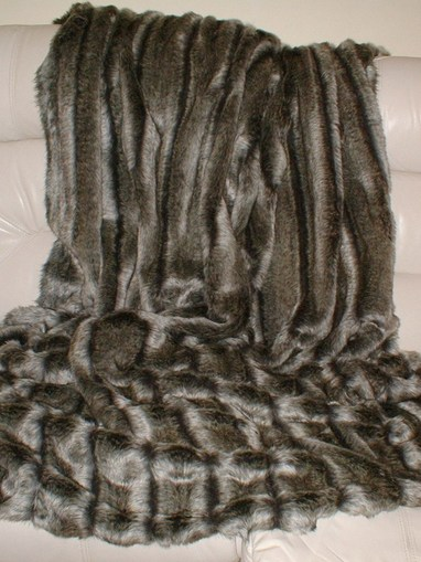 Smokey Mountain Faux Fur Swatches