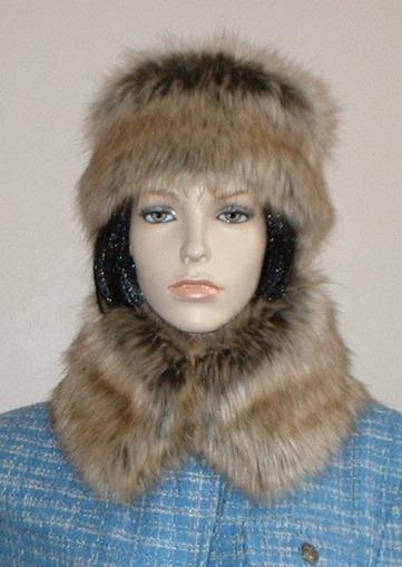 Husky Faux Fur Short Collar
