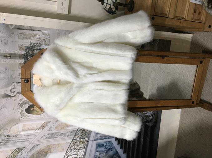 SALE Faux Fur Cropped Jackets