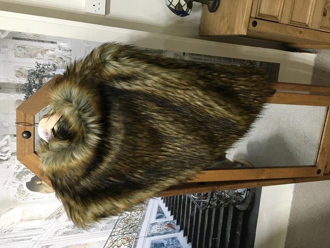 SALE Faux Fur Huntress Cowls