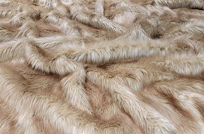 Toffee Faux Fur Fabric