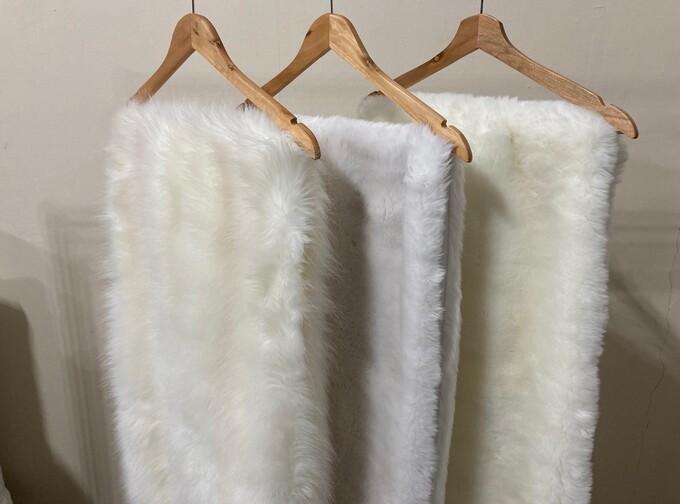 SALE Long Faux Fur Stoles