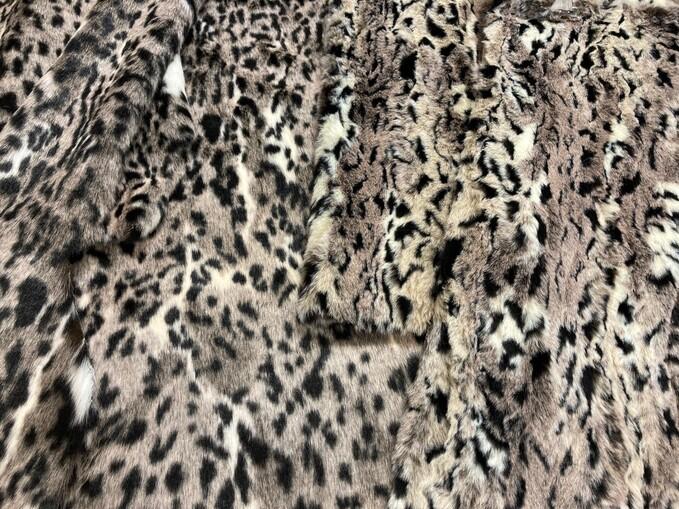 Wild Cat Faux Fur Fabric